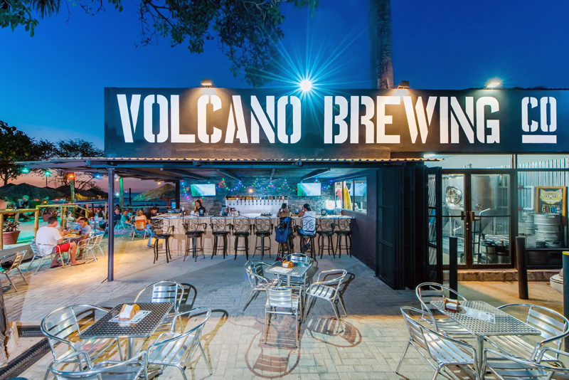 Tamarindo Nightlife Volcano Brewing Co