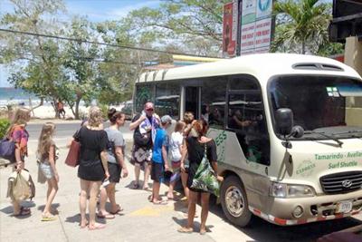 tamarindo beach shuttle
