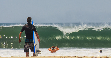 Tamarindo Surf Spot