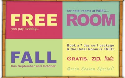 FREE ROOMS this FALL—First come, first SURF