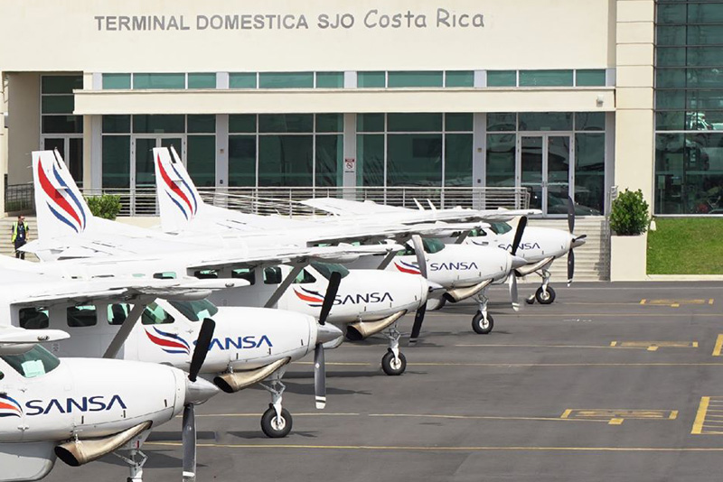 costa rica domestic airline